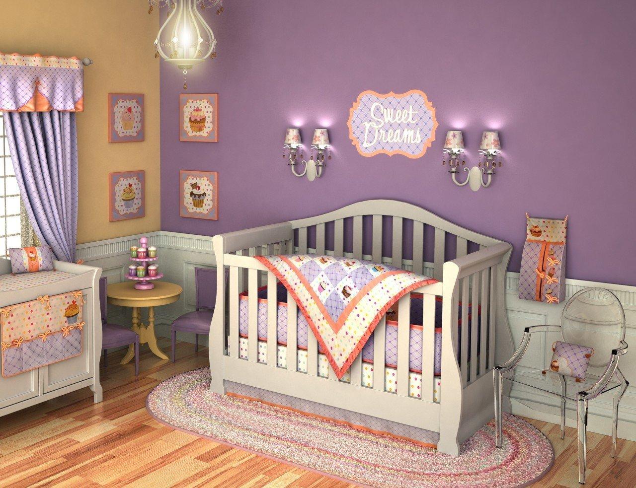 детская комната для новорожденного фото дизайна