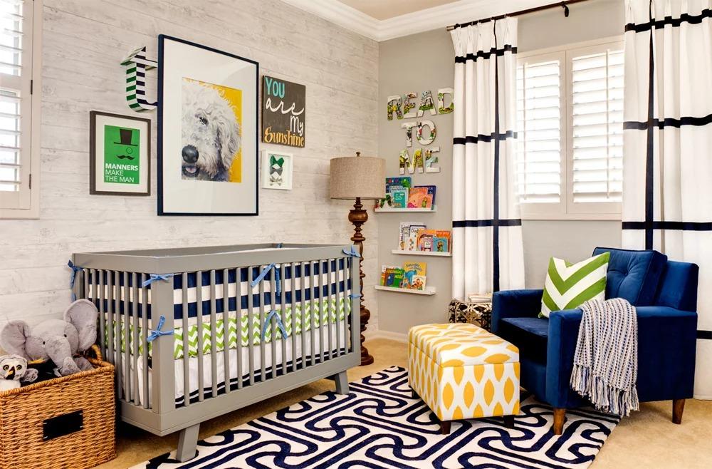комната для новорожденного фото оформления