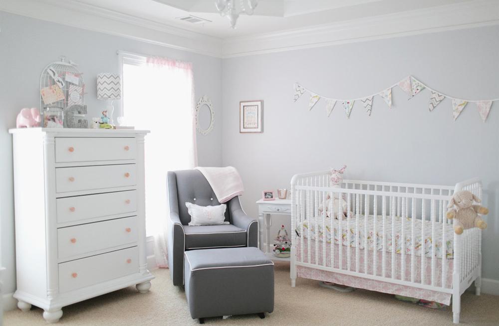 детская комната для новорожденного идеи фото