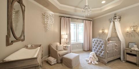 комната для новорожденного классика