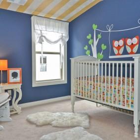 комната для новорожденного фото варианты