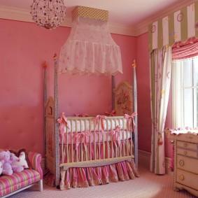 комната для новорожденного декор идеи