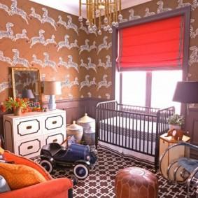 комната для новорожденного идеи оформления