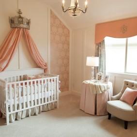 комната для новорожденного идеи вариантов