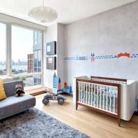 комната для новорожденного виды фото