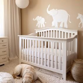 комната для новорожденного фото вариантов