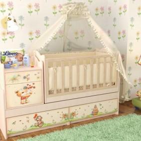 комната для новорожденного идеи декор