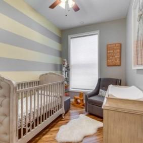 комната для новорожденного виды декора