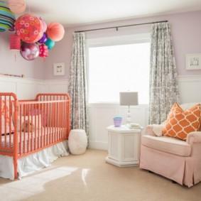 комната для новорожденного обзор