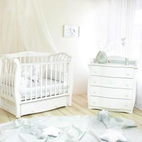 комната для новорожденного дизайн фото