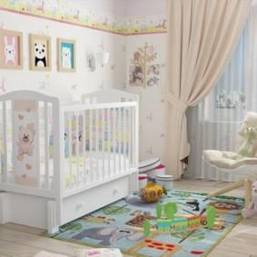 комната для новорожденного фото декора