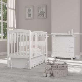 комната для новорожденного идеи фото