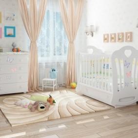 комната для новорожденного фото дизайн