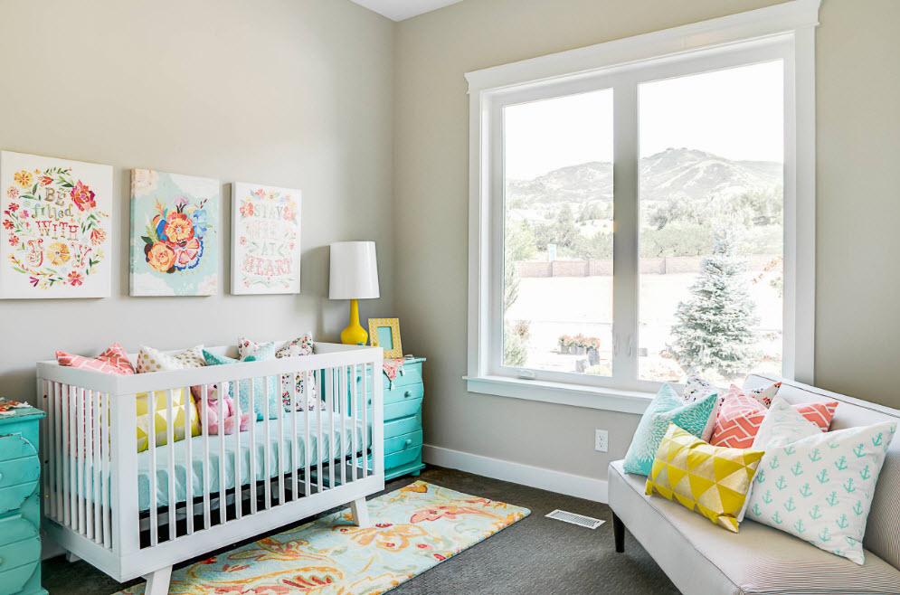 комната для новорожденного оформление