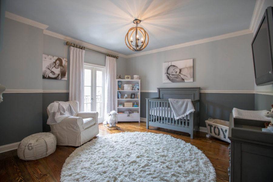 комната для новорожденного современная