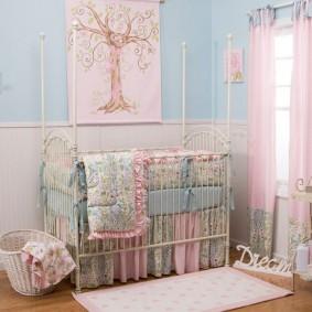 комната для новорожденного идеи виды