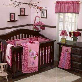комната для новорожденного фото оформление
