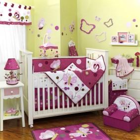 комната для новорожденного интерьер идеи