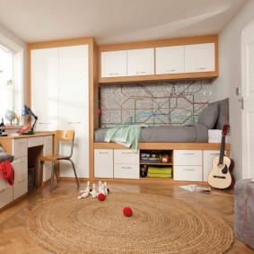 детская комната для школьника фото декор