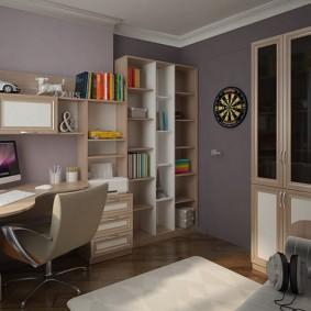 детская комната для школьника интерьер