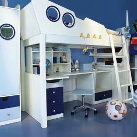 детская комната для школьника интерьер фото