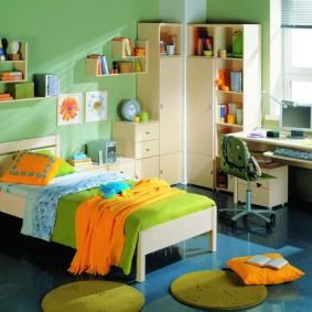 детская комната для школьника фото интерьера