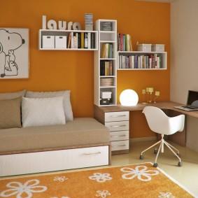 детская комната для школьника интерьер идеи