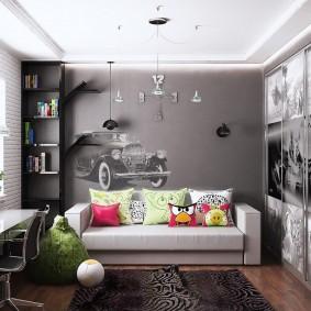 детская комната для школьника идеи интерьер