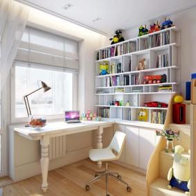 детская комната для школьника виды