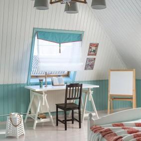 детская комната для школьника идеи виды