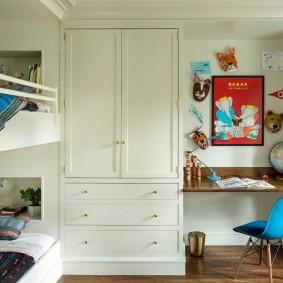 детская комната для школьника виды дизайна