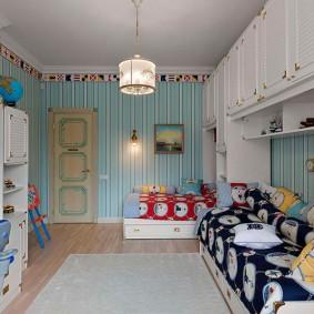 детская комната для школьника виды декора