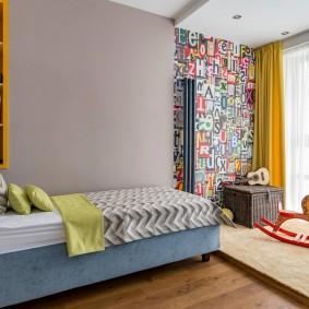 детская комната для школьника фото дизайна