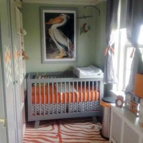 детская комната на балконе декор