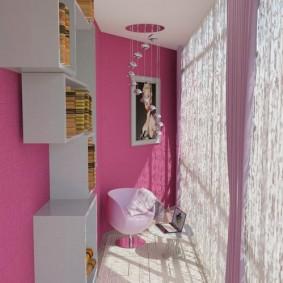 детская комната на балконе фото декора