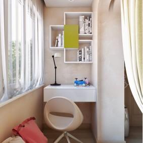 детская комната на балконе фото интерьера