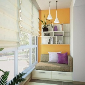 детская комната на балконе виды идеи
