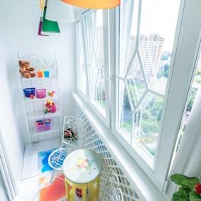 детская комната на балконе фото дизайна