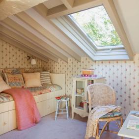 детская комната в деревянном доме декор идеи