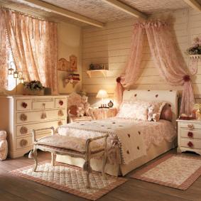 детская комната в деревянном доме идеи декора