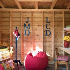 детская комната в деревянном доме интерьер идеи