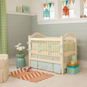 детская комната в деревянном доме фото дизайн