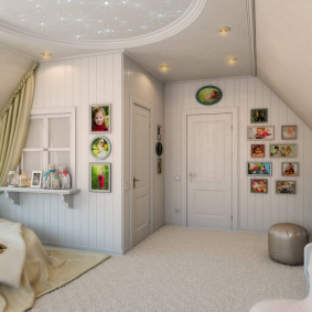 детская комната в деревянном доме идеи интерьера
