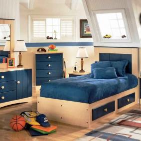 детская комната в деревянном доме оформление идеи
