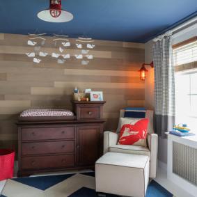 детская комната в деревянном доме идеи варианты