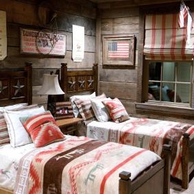 детская комната в деревянном доме идеи вариантов