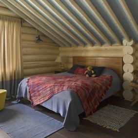 детская комната в деревянном доме фото виды
