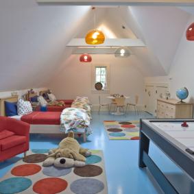 детская комната в деревянном доме идеи дизайна