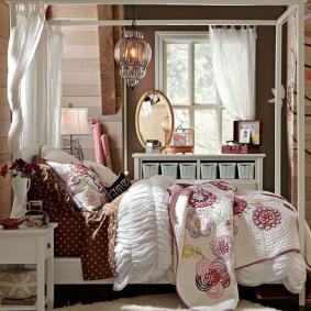 детская комната в деревянном доме фото декор