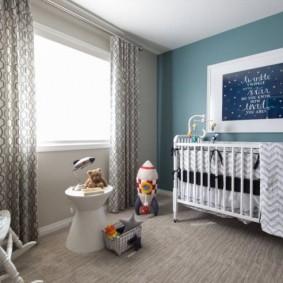 детская комната в скандинавском стиле идеи дизайна